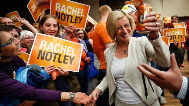 The NDP have gone from fourth to first, breaking 43 years of PCAA governments